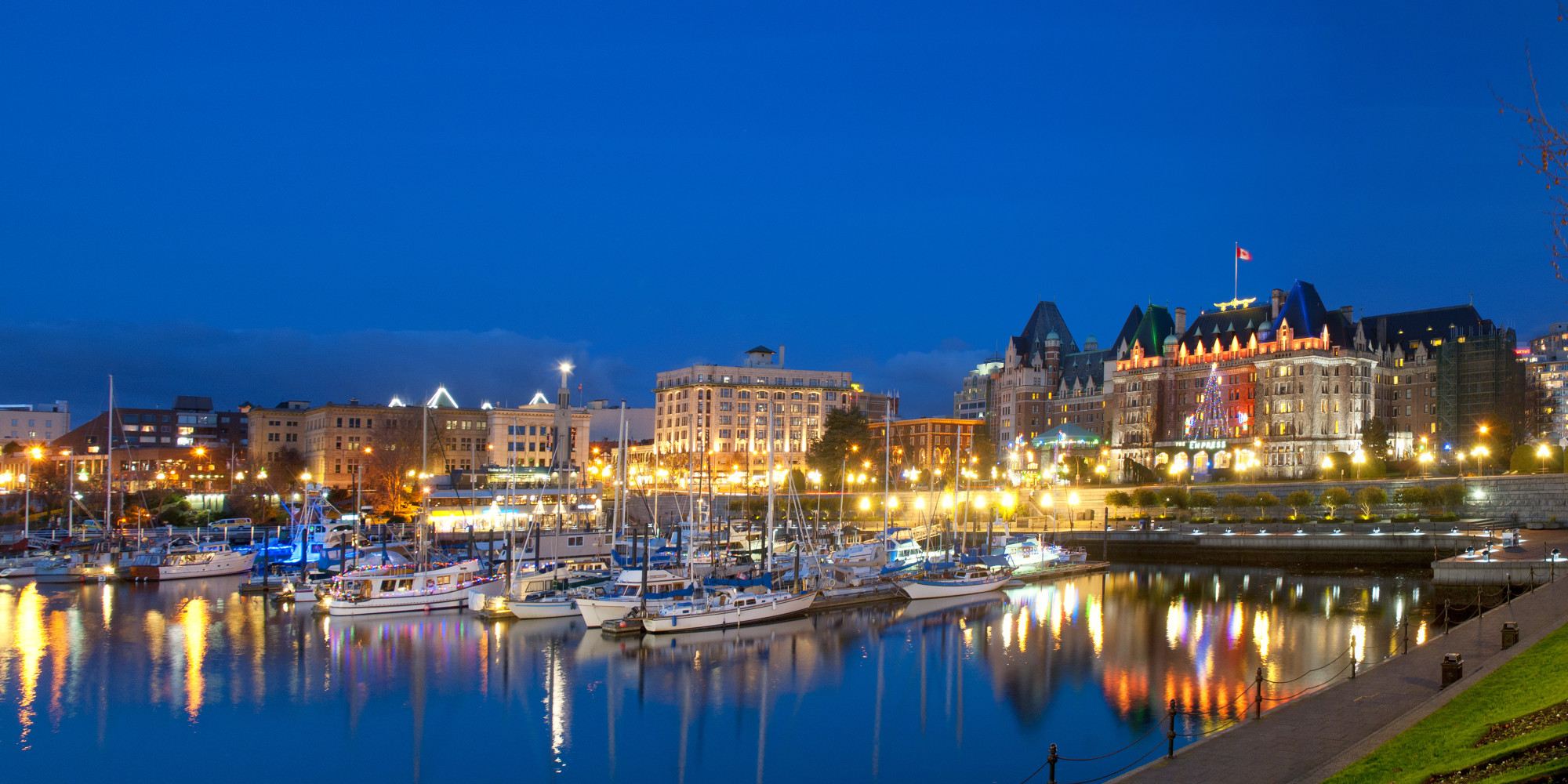 Inner Harbour of Victoria