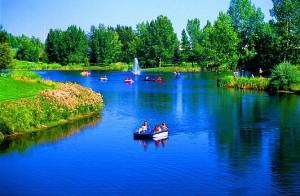 Bower Ponds Red Deer